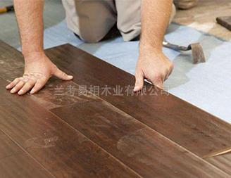 易相木业施工现场