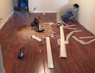 兰考易相木业施工实拍